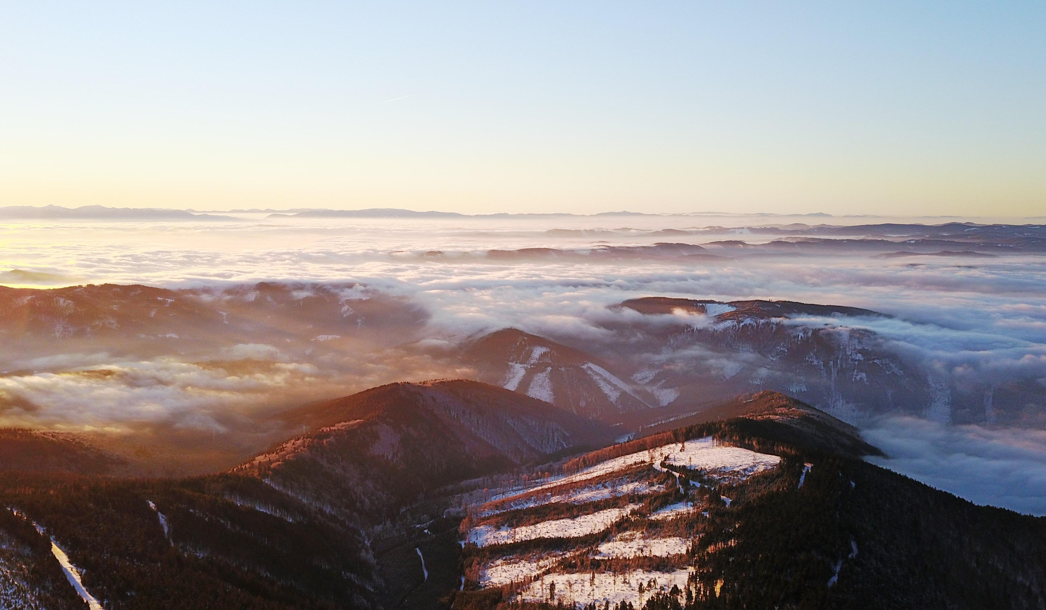 Lysá Hora letecky DJI Mavic Pro zkušenosti a test, Lukáš Budínský