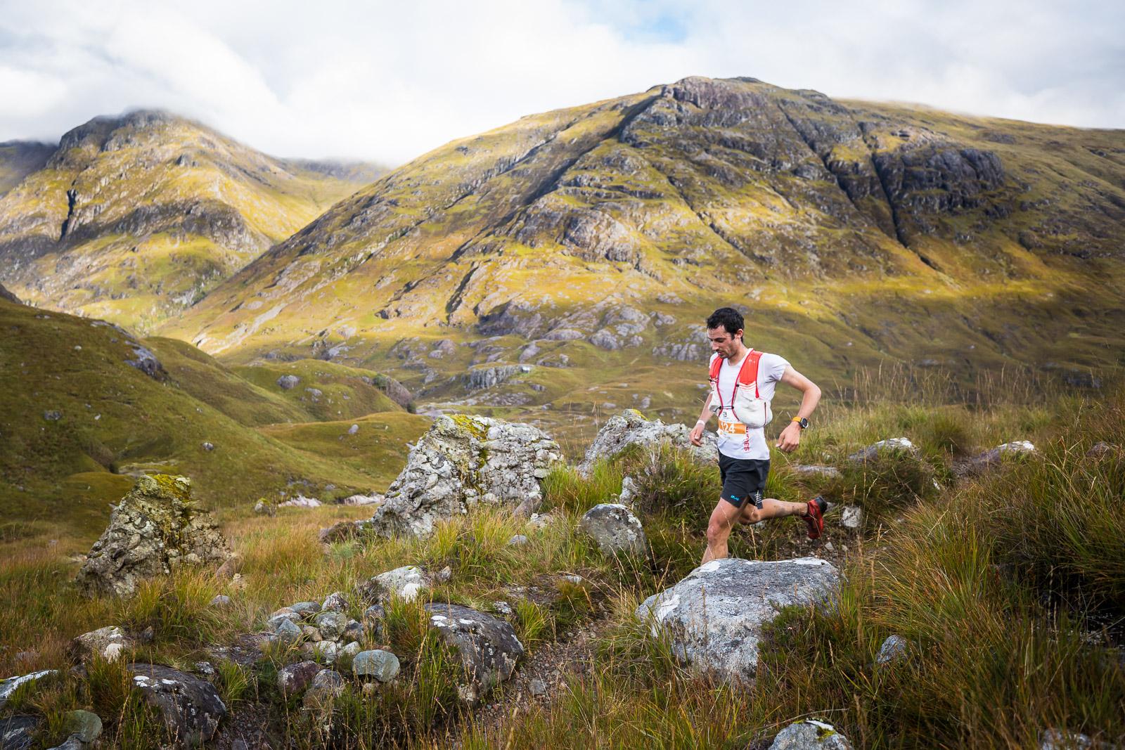 Skotsko Glen Coe Skyline Killian Jornet skyrunning glencoe ring of steal, Lukáš Budínský