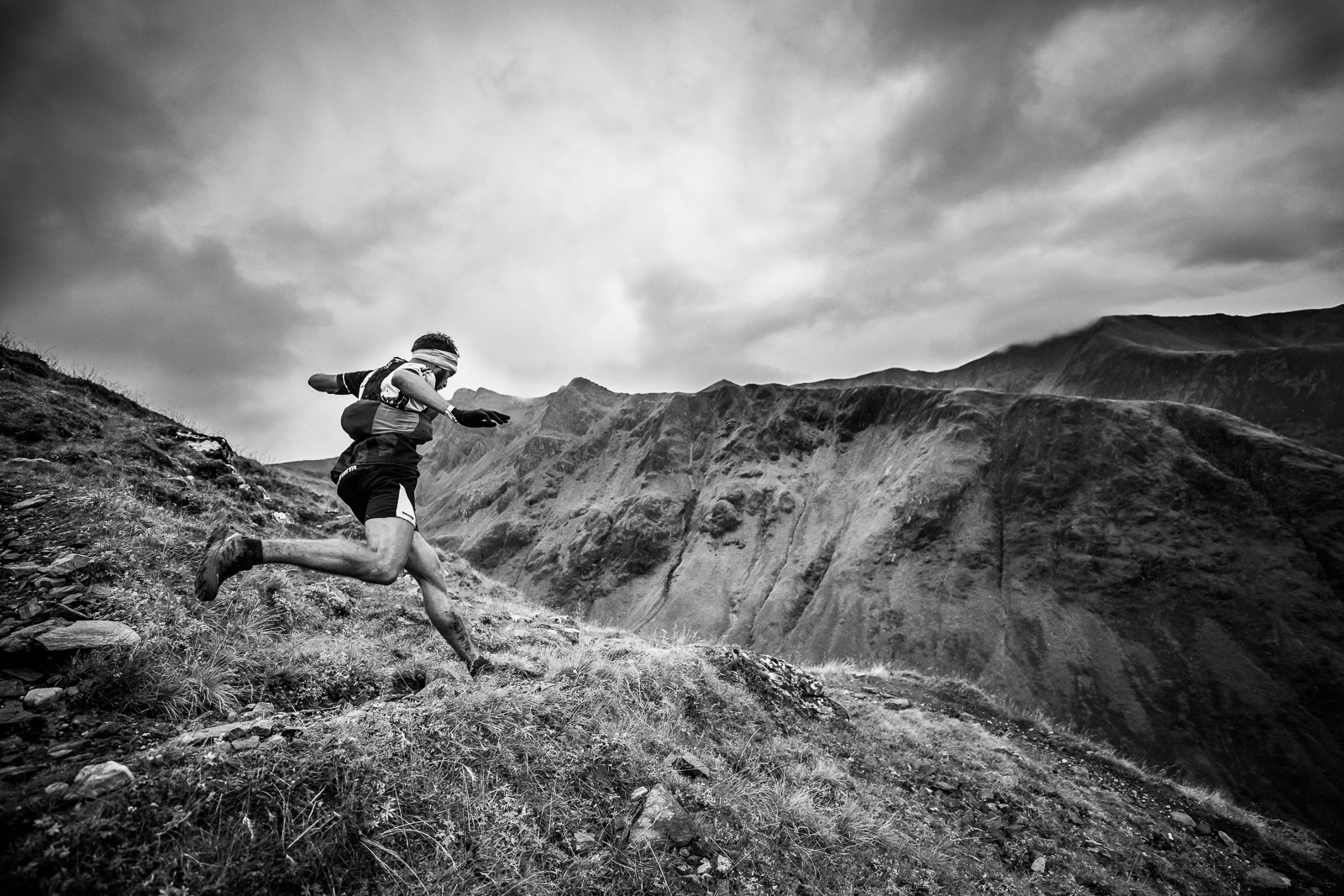 Skotsko fotografie skyrunning glencoe ring of steal, Lukáš Budínský